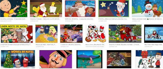 10 desenhos infantis natalinos, crianças